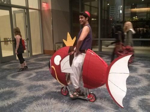 aladdin cosplay magikarp IRL puns Pokémon - 8226919936
