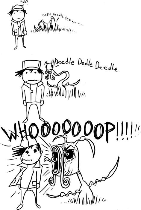 creepy Pokémon web comics kricketune deedle deedle whoop - 8226962944