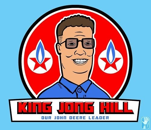 Kim Jong-Il King of the hill puns North Korea - 8227007232