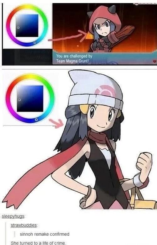 Pokémon team aqua sinnoh confirmed - 8227009792