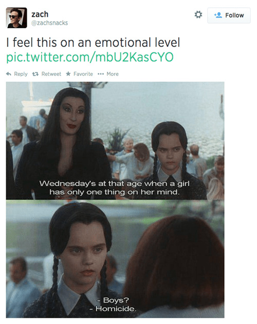 twitter,that feel,the addams family,failbook,g rated