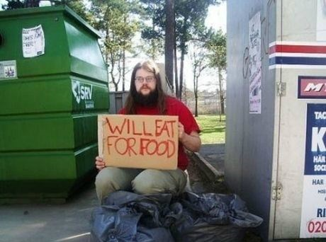 will eat for food,homeless,food