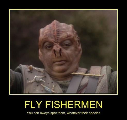 funny fly fishing Star Trek - 8227319808