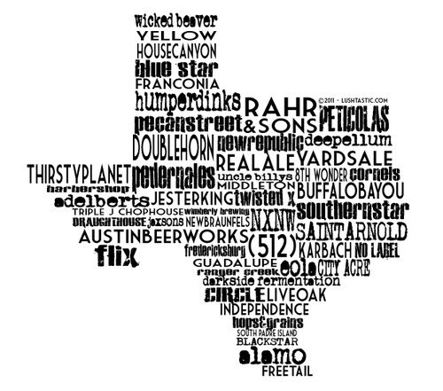 beer awesome map funny texas - 8227459328