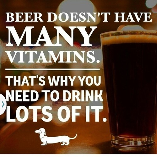 beer,quote,funny,vitamins