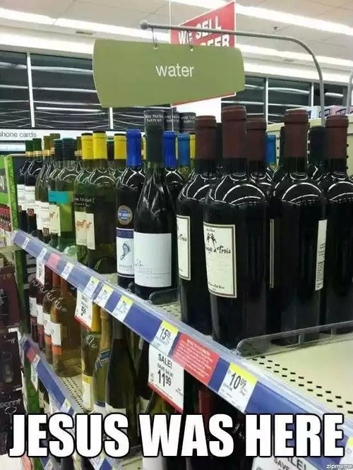 funny jesus wine water after 12 g rated - 8227494912