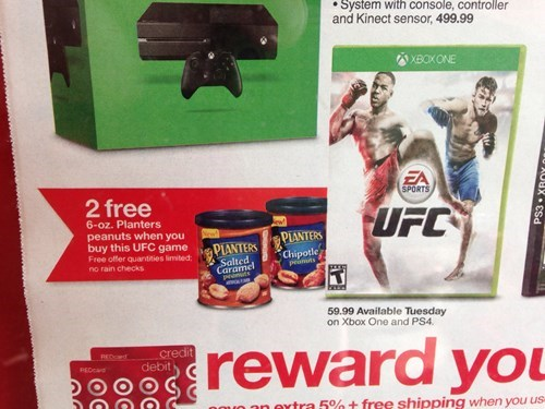 what a deal damn son where'd you find this xbox one oh baby a triple nuts video games ufc