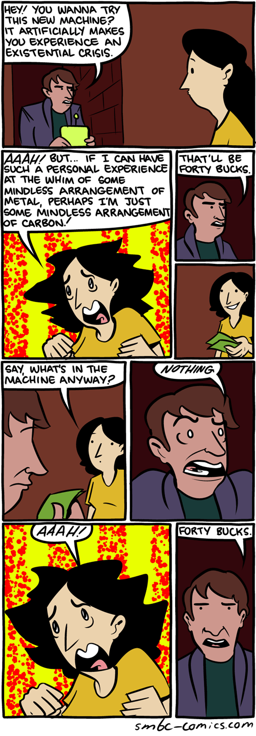 Existential Crisis (Saturday Morning Breakfast Cereal)