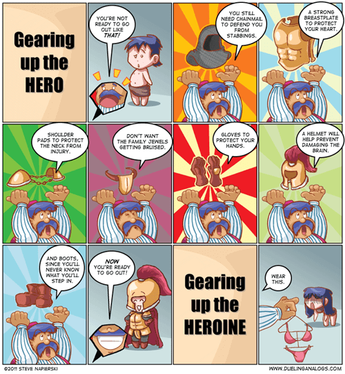 RPGs sad but true Videogames armor web comics - 8228278272