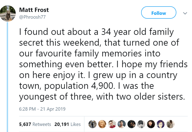 Twitter story of a lovable family dog