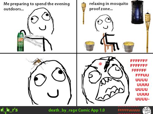 bug spray mosquito rage - 8228374272