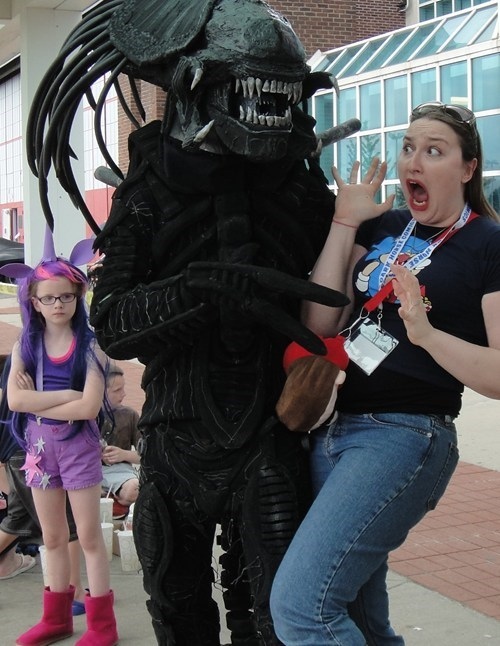 xenomorph,cosplay,twilight sparkle