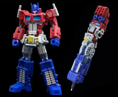 design optimus prime pen transformers