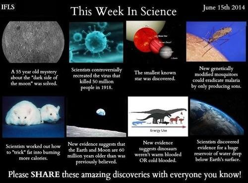 discovery,awesome,last week,science