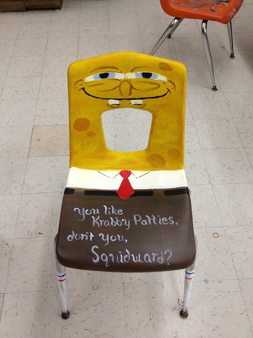 art chair SpongeBob SquarePants - 8229254656