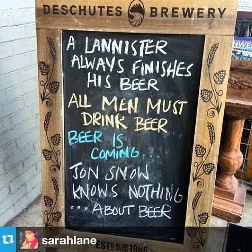beer Game of Thrones sign pub - 8229284608