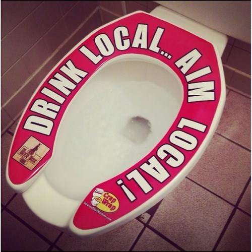 beer ads funny pee toilet pub - 8229295104