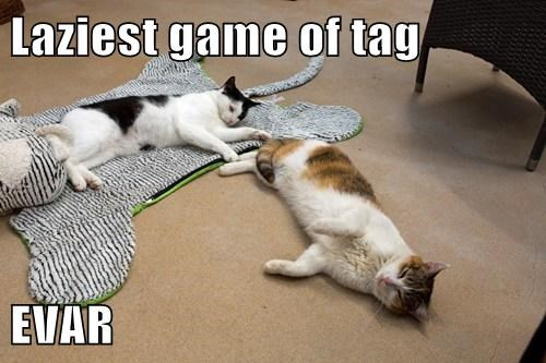 Laziest game of tag EVAR