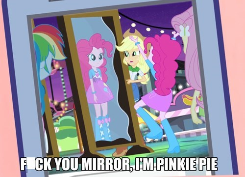 equestria girls 4th wall pinkie pie - 8229381120