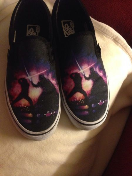 light saber star wars shoes win poorly dressed - 8229430272