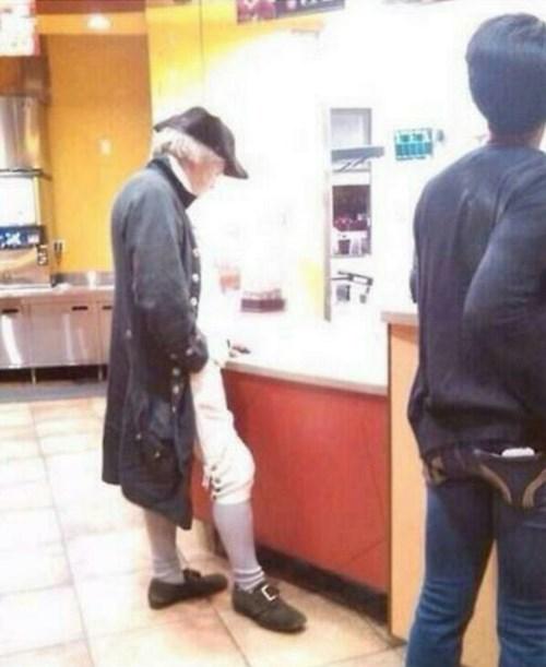 freedom george washington McDonald's revolutionary war - 8229433088