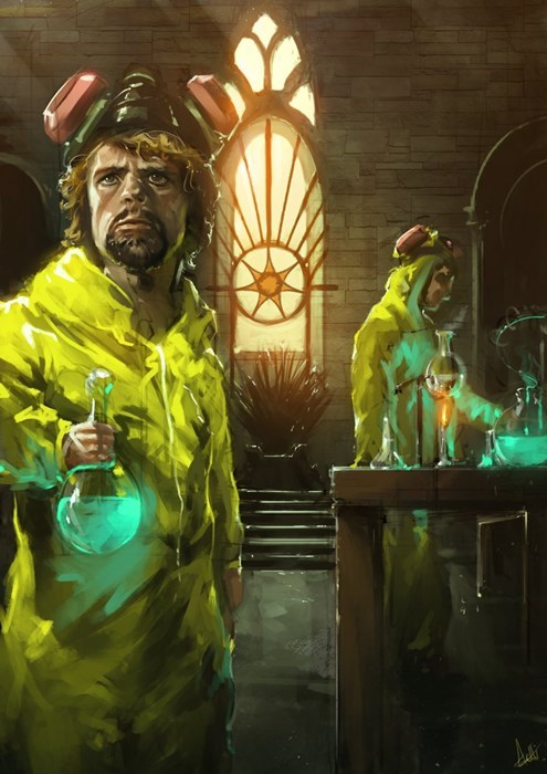 breaking bad,Fan Art,Game of Thrones,season 4,tyrion lannister