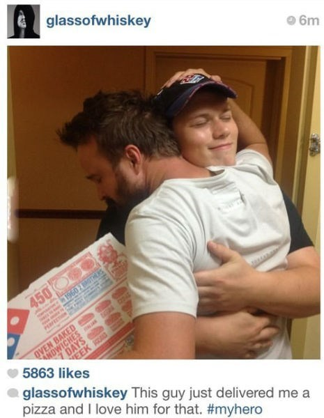 aaron paul delivery monday thru friday pizza
