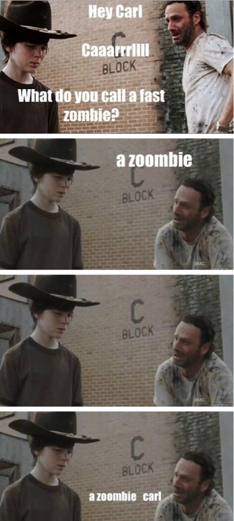 funny puns zombie The Walking Dead - 8229596928