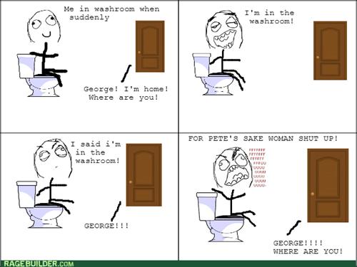 bathroom yelling rage - 8229722368