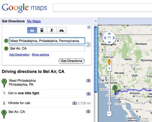 google maps fresh prince failbook g rated - 8229749504