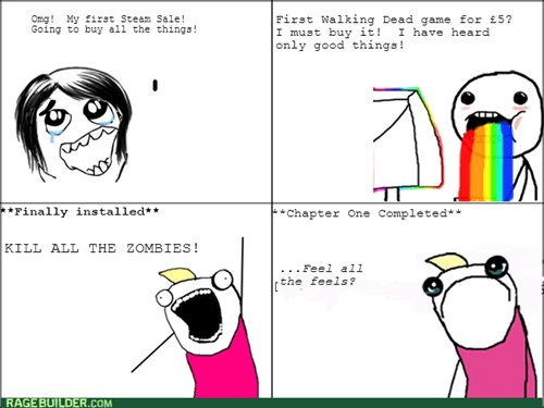 all the things,video games,steam,The Walking Dead