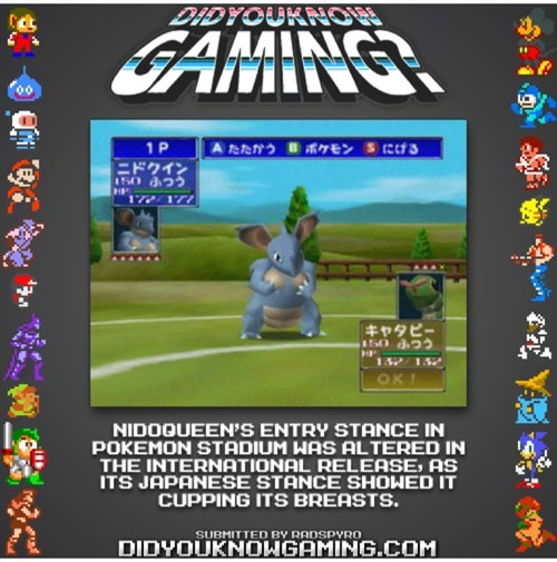 Japan nidoqueen pokemon stadium - 8230881280