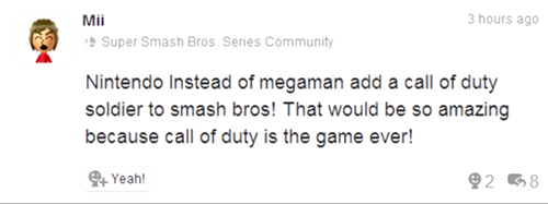 Miiverse wtf super smash bros pls be trolling - 8230896640
