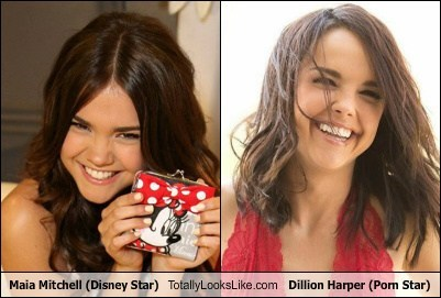 Funny Picture In Which Dillion Harper And Maia Mitchell Totally Look Like Each Other