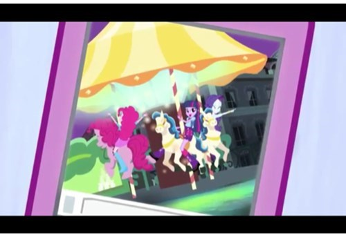 Pinkie riding Pinkie