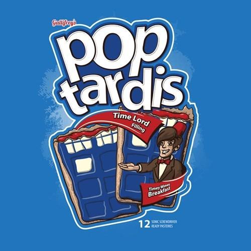 11th Doctor pop tarts tshirts - 8231570432