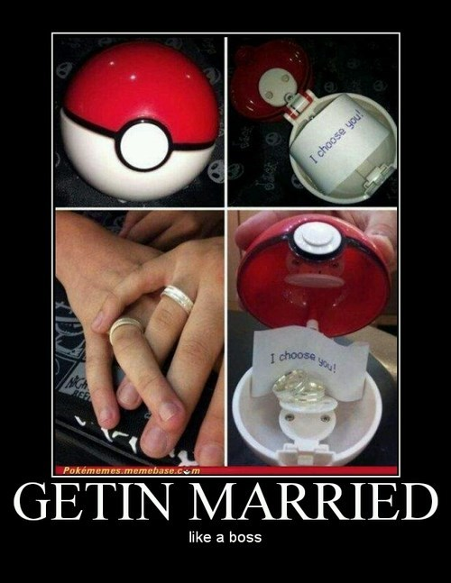 funny proposal marriage Pokémon - 8231752192