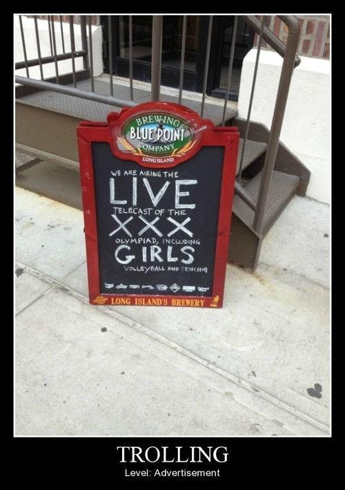 ads funny olympics sign pub - 8231752704