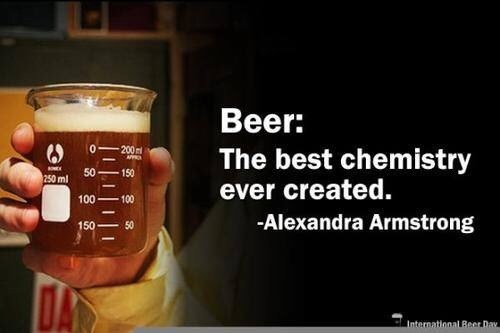 beer Chemistry funny science - 8231966208