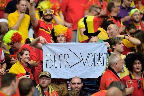 beer,belgium,funny,russia,world cup,vodka
