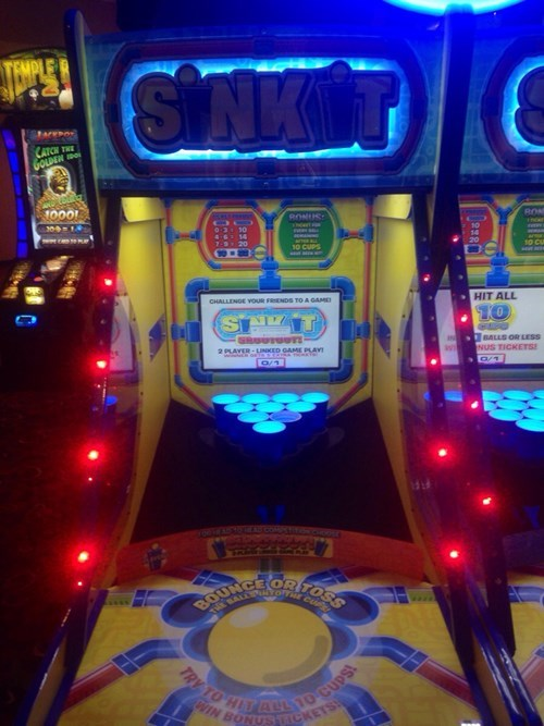 arcade,wtf,beer pong,practice,funny,after 12,g rated