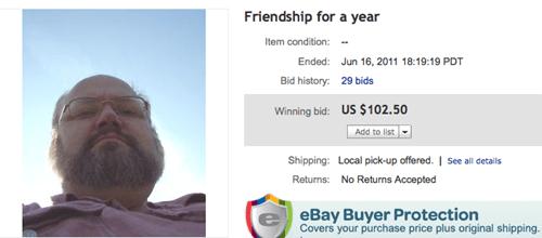 forever alone ebay - 8232832768