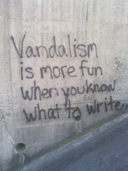 graffiti vandalism - 8232876544