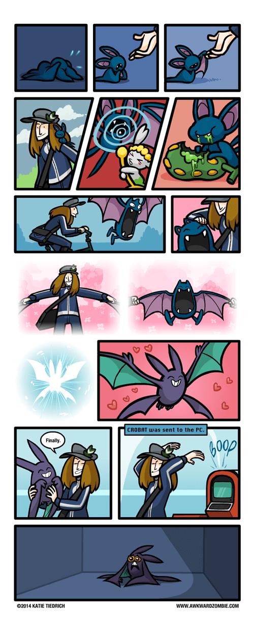 Pokémon pokedex web comics awkward zombie - 8233001728