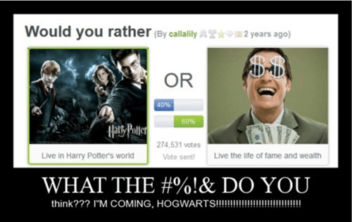 answer Hogwarts funny internet