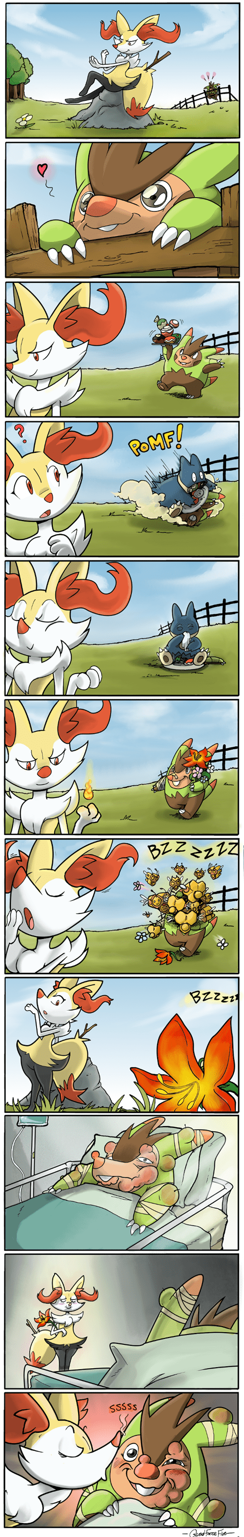 fennekin,Pokémon,Fan Art,web comics