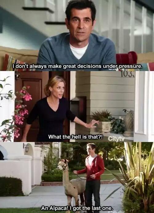 Modern Family,alpaca,puns