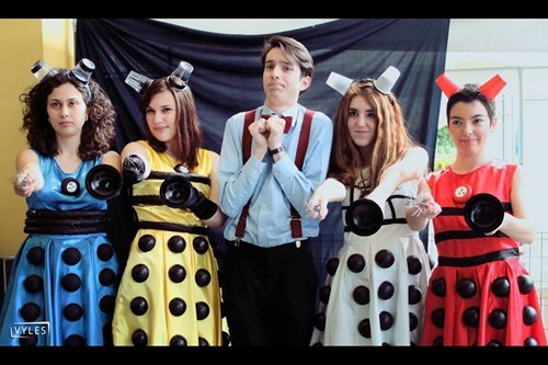 cosplay daleks the doctor ladies - 8233113088