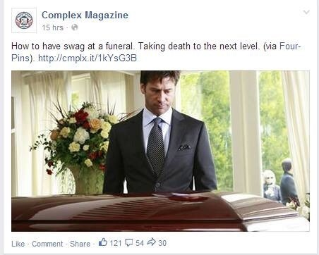 swag inappropriate funeral - 8233263360