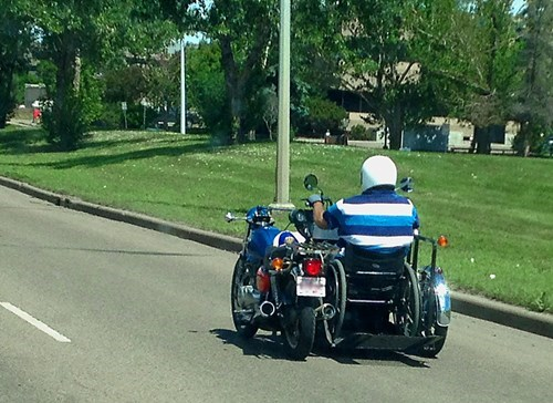 driving wheelchair BAMF motorcycle - 8233271040